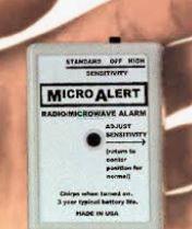 Osobní mikroalarm před elektrosmogem