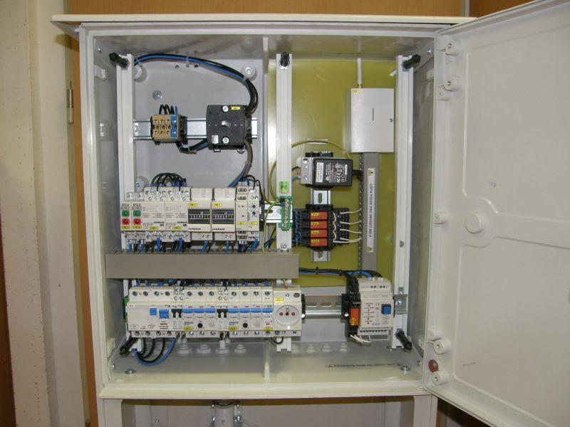 Ovládací automatika pro velká čerpadla MOA